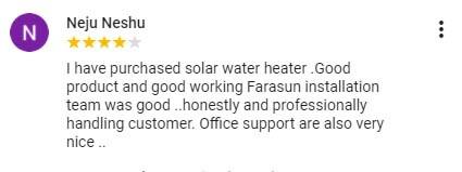 Best solar companies in Calicut Farasun Testimonial 5